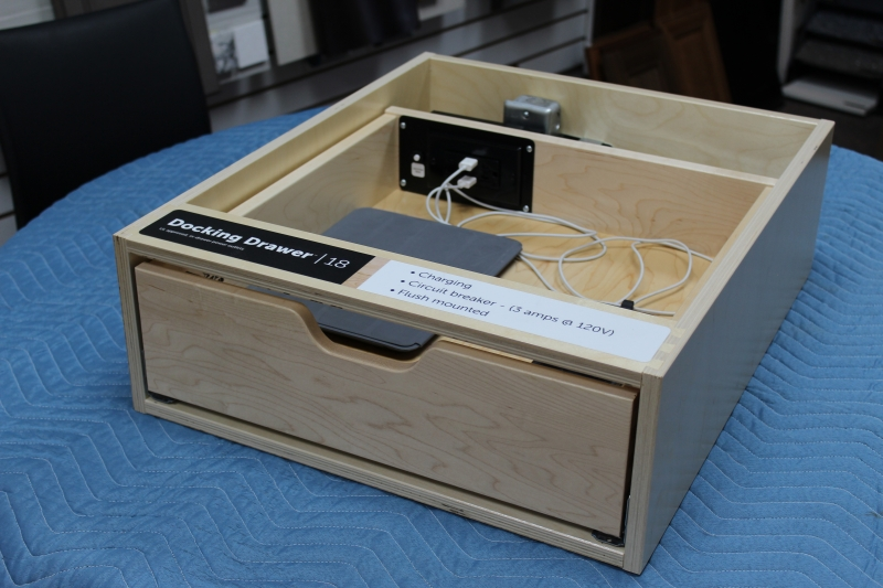 Docking Drawer Demo Model
