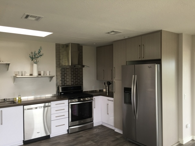 Palm Springs Condo Remodel - Kitchen & Bar - Cabinets of ...